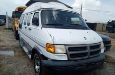 White 2002 Dodge RAM car at attractive price in Lagos