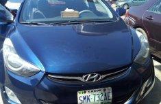 Hyundai Elantra GLS Automatic 2012 Blue color for sale
