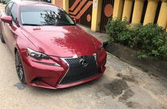 Used 2015 Lexus IS car automatic at attractive price in Lagos