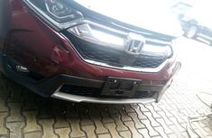 Sell well kept red 2017 Honda CR-V suv at price ₦13,000,000