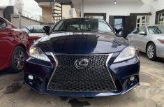 Lexus IS 2010 250 Automatic Blue color for sale
