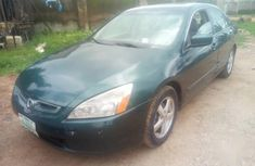 Honda Accord Automatic 2003 Green color for sale