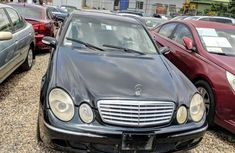 Black 2004 Mercedes-Benz E320 car sedan automatic at attractive price