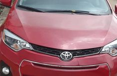 Best priced used red 2016 Toyota Corolla automatic in Lagos