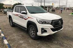 Grey 2016 Toyota Hilux pickup for sale at price ₦12,500,000 in Lagos