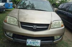 Sell well kept gold 2004 Acura MDX automatic at price ₦1,000,000