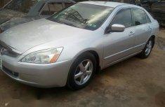 Sell grey 2005 Honda Accord in Jos at cheap price