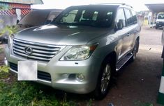 Used grey 2010 Lexus LX suv for sale at price ₦12,500,000