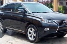 Sell well kept black 2015 Lexus RX suv in Lagos