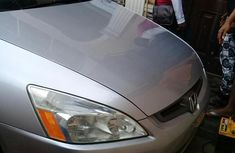 Honda Accord 2003 2.4 Automatic Silver color for sale
