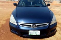 Blue 2006 Honda Accord sedan for sale at price ₦900,000 in Jos
