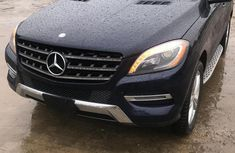 Selling blue 2013 Mercedes-Benz M-Class at cheap price