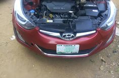 Hyundai Elantra 2015 Red for sale