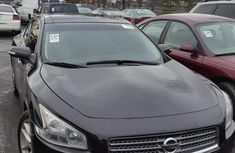 Nissan Maxima 2011 Black  color for sale