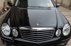 Mercedes-Benz E350 2008 Black color for sale