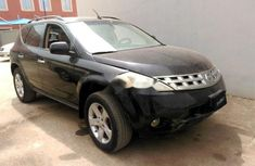 Selling black 2003 Nissan Murano suv automatic at price ₦681,000