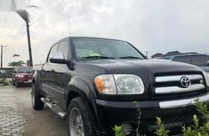 Toyota Tundra 2006 Regular Cab Black color for sale