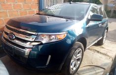 Sell blue 2011 Ford Edge automatic in Ikeja