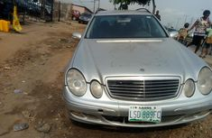 Grey/silver 2005 Mercedes-Benz E240 at mileage 0 for sale in Lagos