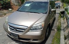Honda Odyssey 2005 Touring Gold color for sale