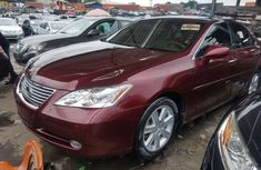 Foreign Used Lexus ES 350 2008 Model Red for Sale