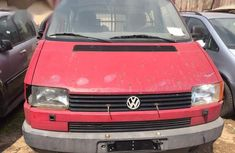 Sell super clean red 1999 Volkswagen Transporter manual
