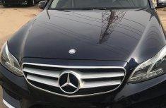 Mercedes-Benz E350 2014 Blue color for sale