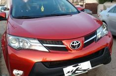 Clean red 2014 Toyota RAV4 automatic for sale at price ₦6,550,000