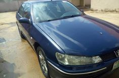 Sell blue 2008 Peugeot 406 automatic in Lagos at cheap price