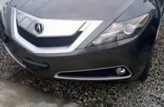 Acura ZDX 2010 Black color for sale