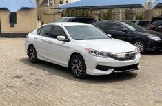 Honda Accord 2017 White color for sale