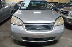Chevrolet Malibu 2007 Silver color for sale