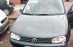 Sell used 2002 Volkswagen Golf manual at price ₦1,100,000 in Lagos