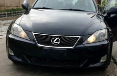Selling black 2007 Lexus IS automatic at price ₦2,900,000 in Lagos