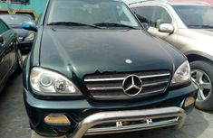 Sell green 2005 Mercedes-Benz ML 500 automatic at mileage 0 in Lagos
