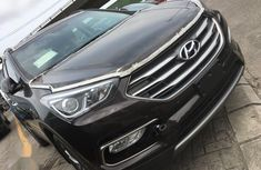 Used brown 2017 Hyundai Santa Fe for sale at price ₦12,600,000 in Ikeja