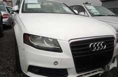 Audi A4 2008 White color for sale
