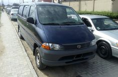 Foreign Used Toyota HiAce Van 2006 Model Blue