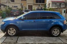 Ford Edge 2008 Blue color for sale