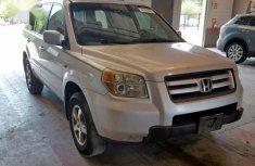 Honda Pilot 2006 EX 4x4 (3.5L 6cyl 5A) Silver  color for sale