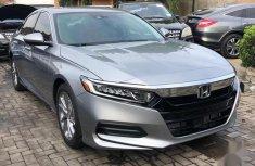 Honda Accord 2018 EX-L Silver color for sale