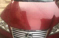 Sell cheap red 2012 Lexus ES at mileage 85,000 in Lagos