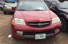 Best priced red 2004 Acura MDX suv / crossover at mileage 97,000