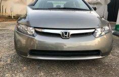 Honda Civic 2008 Gray color for sale