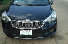 Kia Cerato 2014 Black color for sale