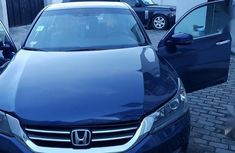 Blue 2013 Honda Accord at mileage 87,000 for sale in Lagos