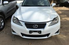 Sell white 2013 Lexus IS automatic at price ₦5,700,000 in Ikeja