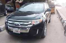 Selling black 2011 Ford Edge automatic in Lagos