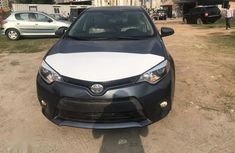 Toyota Corolla 2016 Gray color for sale