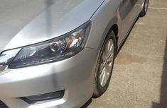 Sell well kept grey 2014 Honda Accord sedan automatic in Lagos